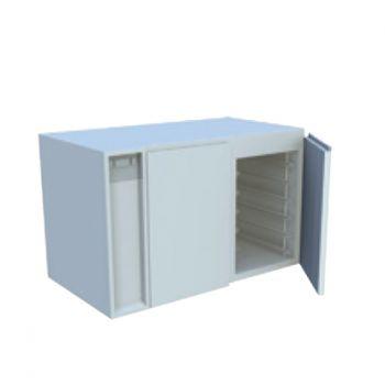 france inox r serve r frig r e sans dessus placard technique 2 portes. Black Bedroom Furniture Sets. Home Design Ideas