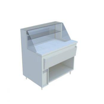 france inox vitrine r frig r e soubassement libre placard technique. Black Bedroom Furniture Sets. Home Design Ideas