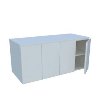 france inox meuble bas neutre doubl sans dessus 4 portes battantes. Black Bedroom Furniture Sets. Home Design Ideas